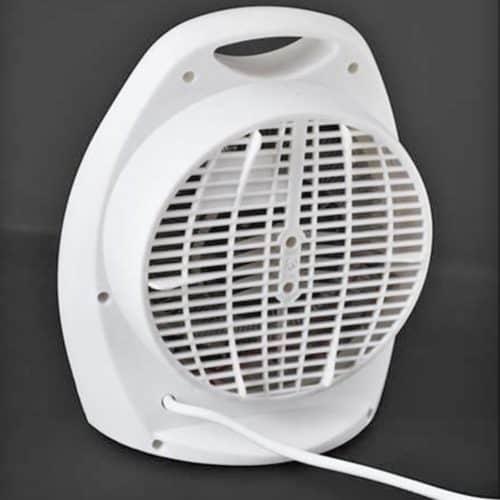 Ισχυρό και αξιόπιστο Αερόθερμο Δαπέδου 2 Επιπέδων Θέρμανσης 2000W με Λαβή μεταφοράς