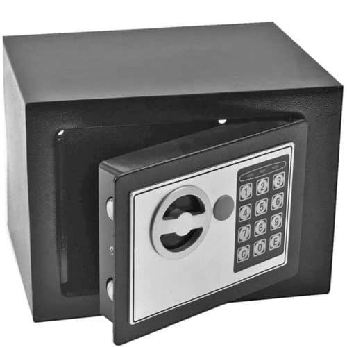 Χρηματοκιβώτιο από βαρέως τύπου χάλυβα με σύστημα κλειδώματος διπλού κοχλία και ψηφιακή κλειδαριά