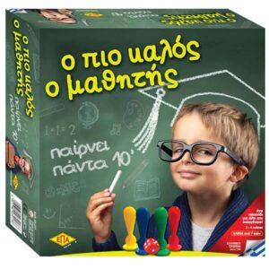 Επιτραπέζιο παιχνίδι γνώσεων και ανταγωνισμού Ο ΠΙΟ ΚΑΛΟΣ Ο ΜΑΘΗΤΗΣ για 2 έως 4 παίκτες