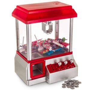 Μηχάνημα με Δαγκάνες για λιχουδιές, παιχνίδια, κουκλάκια με πλαστικά κέρματα και μουσική