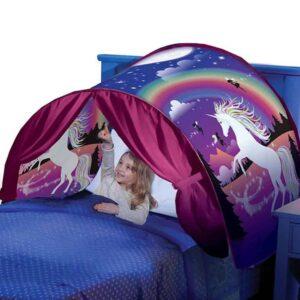 Παιδική σκηνή κρεβατιού Pop up με παρστάσεις και διάφορα θέματα με κουρτινούλες