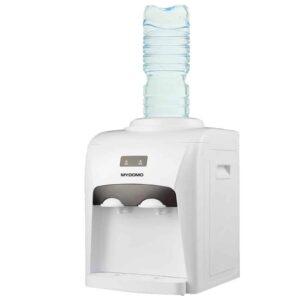Επιτραπέζιος Ψύκτης για Κρύο και Ζεστό Νερό με υποδοχή για μπουκάλα εμπορίου 500W Mydomo
