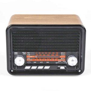 Φορητό ηχοσύστημα με κρυστάλλινο ήχο και επαναφορτιζόμενη μπαταρία σε χρώμα Καφέ