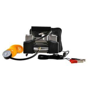 Ηλεκτρικό Κομπρεσέρ Αέρα Τρόμπα Αυτοκινήτου 240W 150psi 12V με 3 διαφορετικά ακροφύσια