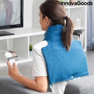 Ηλεκτρικό Μαξιλάρι Θέρμανσης Θερμοφόρα 60W για το λαιμό, την πλάτη, τους ώμους και τον αυχένα