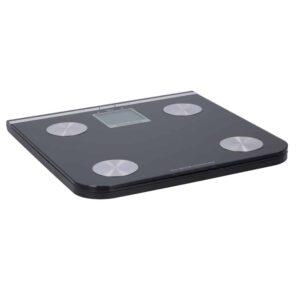 Ηλεκτρονική Ζυγαριά για Μέτρηση Σωματικού Βάρους, Λίπους και Ποσοστού Νερού με Φωτιζόμενη Οθόνη