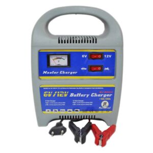Ηλεκτρονικός φορτιστής Μπαταρίας Αυτοκινήτου & Μηχανής 6/12v 8 Amp υψηλών προδιαγραφών