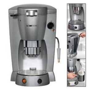 Καφετιέρα μηχανή Espresso Clatronic 1300W με διάφανο αφαιρούμενο δοχείο νερού και υποδοχή για κάψουλες