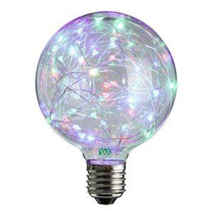 Στρογγυλός Κρεμαστός LED Λαμπτήρας με Αντάπτορα πολύχρωμος RGB Led Big Christmas Lamp