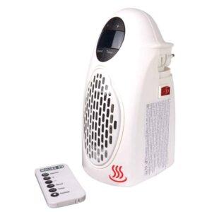 Θερμαντικό σώμα χωρίς καλώδιο 500W περιστρεφόμενο 180 μοιρών με τηλεκοντρόλ και θερμοστάτη