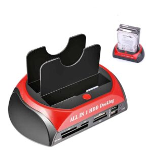 Βάση Σύνδεσης Σκληρών Δίσκων SATA και IDE σε USB 3.0 και eSATA Plug n Play τοποθέτηση
