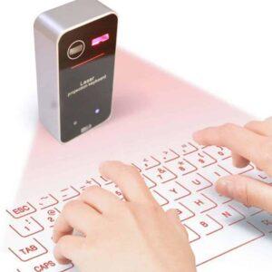 Eικονικό και ασύρματο πληκτρολόγιο λέιζερ Laser Bluetooth Πληκτρολόγιο Προτζέκτορας