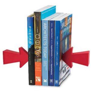Μαγνητικός Βιβλιοστάτης με 2 Βελάκια, οργανώστε τον χώρο εργασίας σας ή το σπίτι σας με στυλ