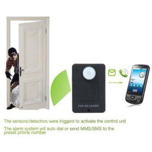 Συσκευή Ειδοποίησης και Ήχου στο Κινητό σας με Ανιχνευτή Κίνησης για την προστασία της οικίας σας