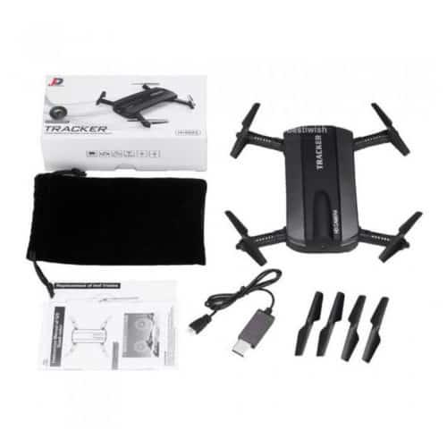 Τετρακόπτερο με Κάμερα HD και ζωντανή παρακολούθηση στο κινητό Mini Selfie Drone
