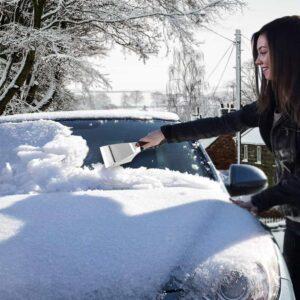Θερμαινόμενη Ηλεκτρική Ξύστρα Πάγου για το Αυτοκίνητο 12V εξαιρετικά ανθεκτική κατασκευή