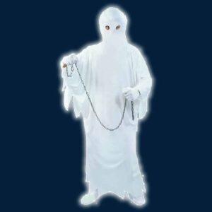 Αποκριάτικη Ανδρική Στολή Φάντασμα με στολή και μάσκα