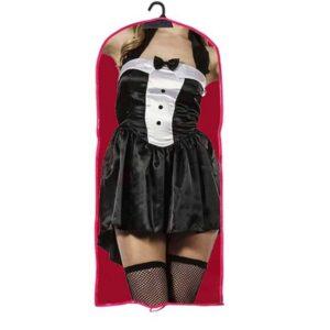 Αποκριάτικη Γυναικεία Στολή λαγουδάκι με φόρεμα και αξεσουάρ κεφαλής