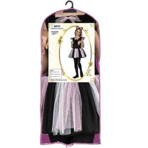 Αποκριάτικη Παιδική Στολή Γατούλα με φόρεμα και αξεσουάρ κεφαλής
