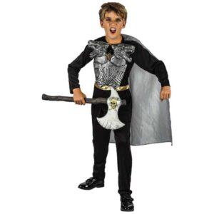 Αποκριάτικη Παιδική Στολή Ιππότης με μπλούζα, κάπα και θώρακα πανοπλίας