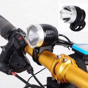 Επαναφορτιζόμενος φακός ποδηλάτου - κεφαλής 860lm με βάση με εξαιρετική ένταση και 3 λειτουργίες