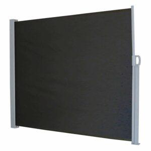 Προστατευτικό Ρολό για τον Ήλιο και τον Αέρα διάστασης 150x300cm σε Μαύρο Χρώμα Cenocco