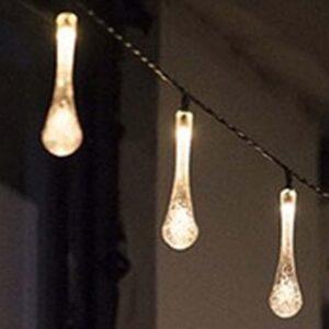 20 Ηλιακοί Λευκοί Λαμπτήρες LED για μαγική και ρομαντική ατμόσφαιρα το βράδυ με αυτόματη λειτουργία