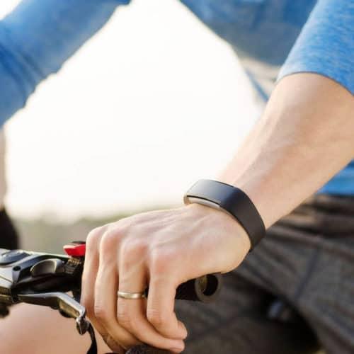 Αδιάβροχο Ρολόι Fitness Tracker με Μετρητή Καρδιακών Παλμών σε τρία χρώματα Aquarius