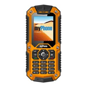 Ανθεκτικό κινητό IP67 με Ελληνικό μενού Dual Sim με μεγάλη αντοχή στους κραδασμούς και το νερό
