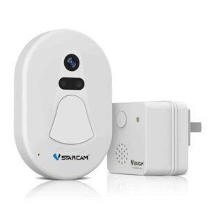 Ασύρματο Κουδούνι Πόρτας με Κάμερα και WiFi με Νυχτερινη Όραση και Αντικλεπτική Λειτουργία