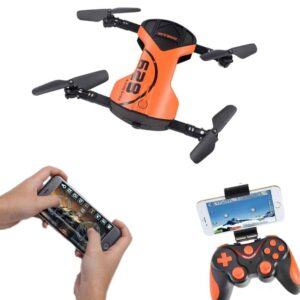 Mini Τετρακόπτερο Drone με Κάμερα 720p ελαφρύ και δυνατό με WiFi έλεγχο και αισθητήρα υψομέτρου