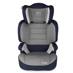 Παιδικό Κάθισμα Ασφαλείας Αυτοκινήτου Χρώματος Μπλε για Παιδιά 15-36Kg με αδιάβροχο ύφασμα