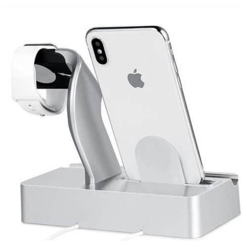 Βάση φόρτισης συσκευών με βολική και ασφαλής σύνδεση για το τηλέφωνο κατάλληλο για iPhone iPad