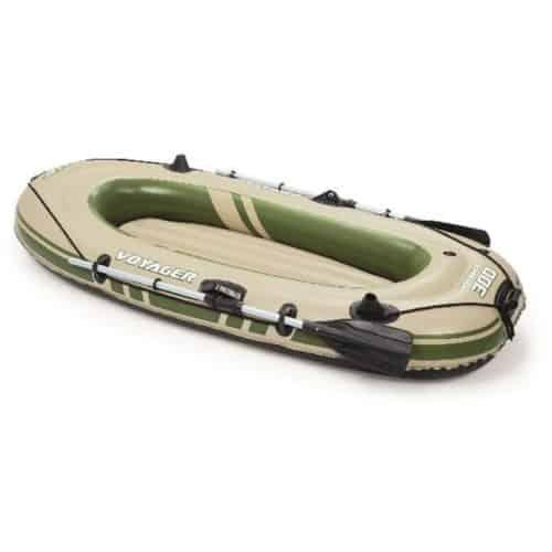 Φουσκωτή Βάρκα 2 ατόμων μήκους 2,43m μέγιστου βάρους 190Kg με 2 κουπιά και φουσκωτό δάπεδο
