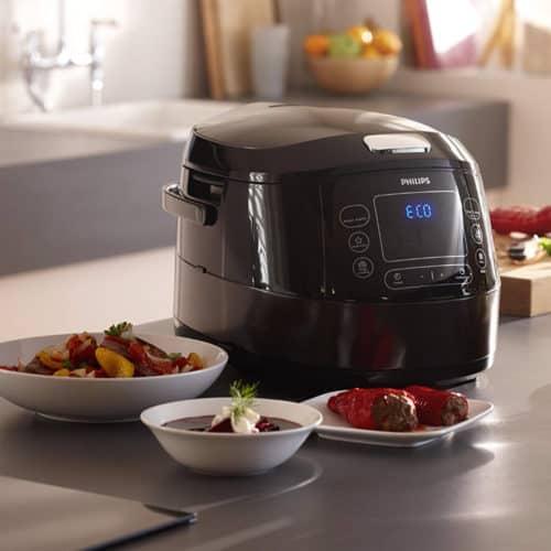 Ηλεκτρικός Αυτόματος Πολυμάγειρας ισχύος 1070W χωρητικότητας 5L με 22 επιλογές μαγειρέματος Philips Avance
