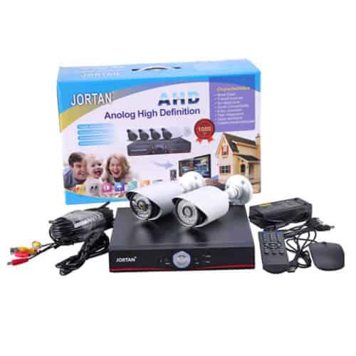 Σετ Καταγραφικό δικτύου με 4 Κάμερες για Εποπτεία και Καταγραφής χώρου CCTV Security Reconding System