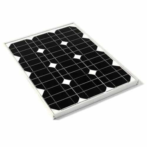 Φωτοβολταϊκό Πάνελ Μονοκρυσταλικού Πυριτίου με Πλαίσιο Αλουμινίου 30W 12V με απόδοση έως και 16,9% ΟΕΜ