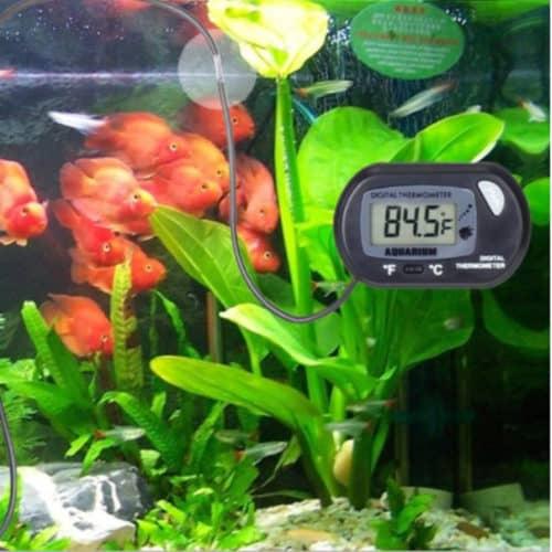 Μεγάλο Ψηφιακό θερμόμετρο ενυδρείου LCD με αισθητήρα με μεγάλη οθόνη και εύκολη ανάγνωση ΟΕΜ