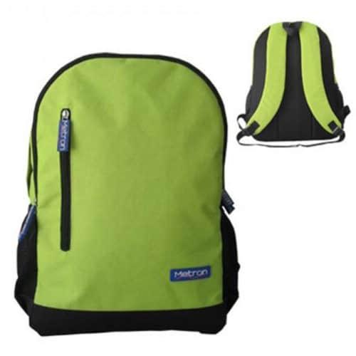 """Αδιάβροχη τσάντα Laptop 15,6"""" ανθεκτική με ενισχυμένη πλάτη και ανατομικούς ιμάντες σε μοντέρνο σχέδιο πράσινο METRON 11025315"""