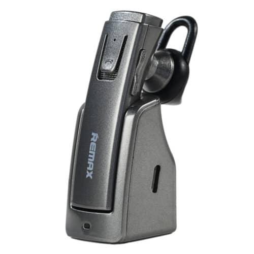 Ακουστικό Bluetooth με βάση φόρτισης αυτοκινήτου συμβατό με όλες τις συσκευές και χρόνου αναμονής 100 ώρες Remax RB-T6C