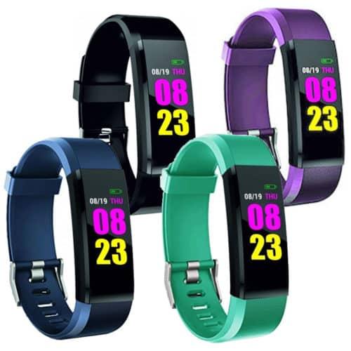 Αδιάβροχο Smartband ρολόι σε τέσσερα χρώματα με χρόνο αναμονής 10 ημερών και οθόνη TFT SENSO FB5 FITNESS BAND