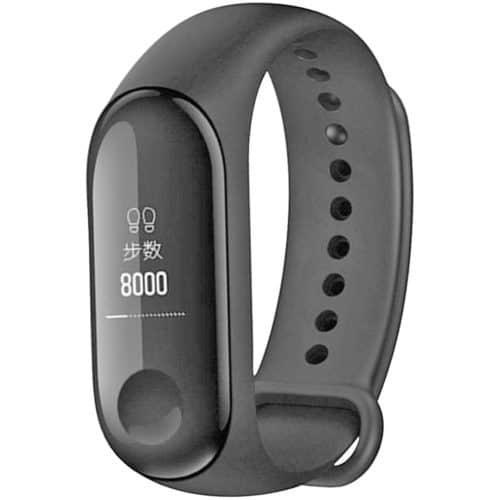 Αδιάβροχο Smartband σε μαύρο χρώμα με οθόνη αφής OLED και πολλές λειτουργίες ORIGINAL XIAOMI MI BAND 3