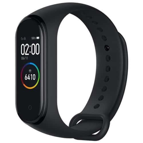 Αδιάβροχο Smartband σε μαύρο χρώμα με οθόνη αφής OLED και πολλές λειτουργίες ORIGINAL XIAOMI MI BAND 4