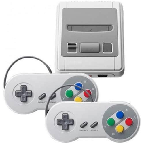Κλασική κονσόλα με 621 ρετρό παιχνίδια ιδανικό για 2 παίκτες super mini SFC look SNES