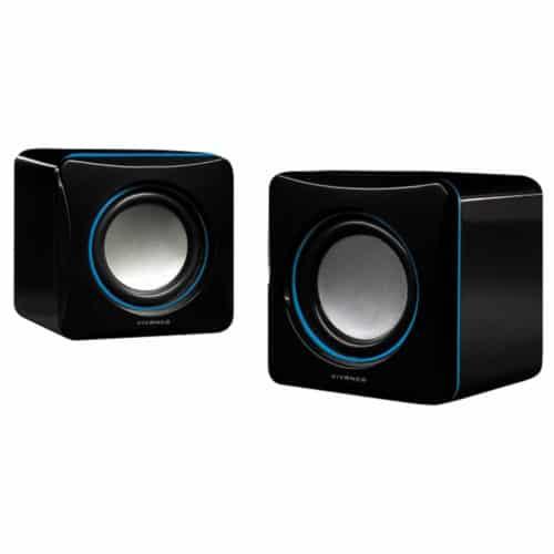 Στερεοφωνικά ηχεία USB με τέλεια κατανομή ήχου, έλεγχο της έντασης 3,5mm, 2W RMS σε μαύρο χρώμα Vivanco