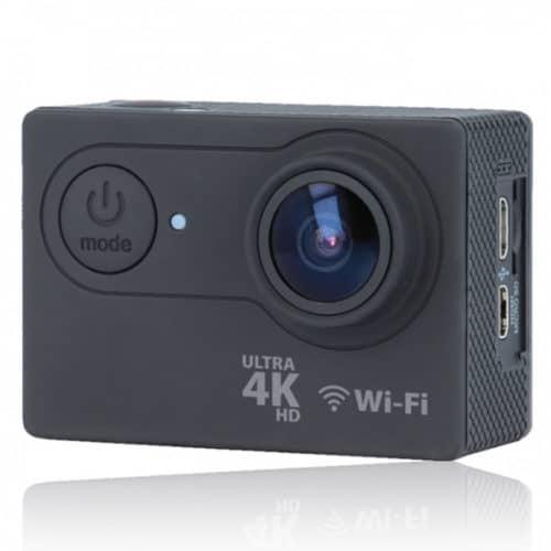 """Αδιάβροχη action camera Ultra HD 4Κ, 25fps με οθόνη 2"""" με αξεσουάρ και wi fi σύνδεση FOREVER SC-400"""