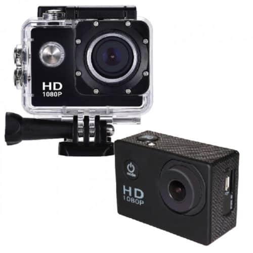 """Αδιάβροχη έως 30m κάμερα δράσης με οθόνη υγρών κρυστάλων 2,0"""" υψηλής ανάλυσης HD 1080P IS ISSPC"""