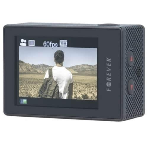 """Αδιάβροχη Ultra HD 4K Action Camera με remote controller καρπού, οθόνη LCD 2,0"""" και με WiFi FOREVER SC-410"""