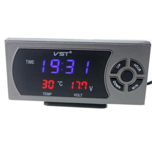 Φορτιστής Αυτοκινήτου USB με Ενδείξεις θερμοκρασίας, μπαταρίας αυτ/του με εύκολη τοποθέτηση ΟΕΜ
