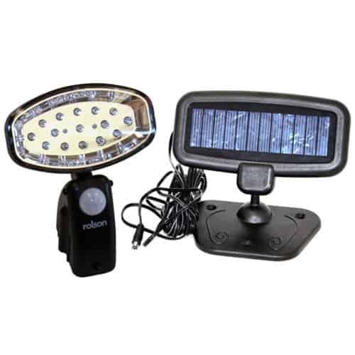 Ηλιακό φωτιστικό εξωτερικού χώρου με 15 Led, χωρίς καλωδίωση και αισθητήρα ανίχνευσης PIR OEM